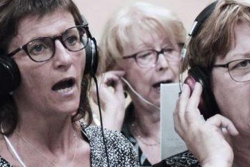 La Chorale Atout Choeur de Muret en studio